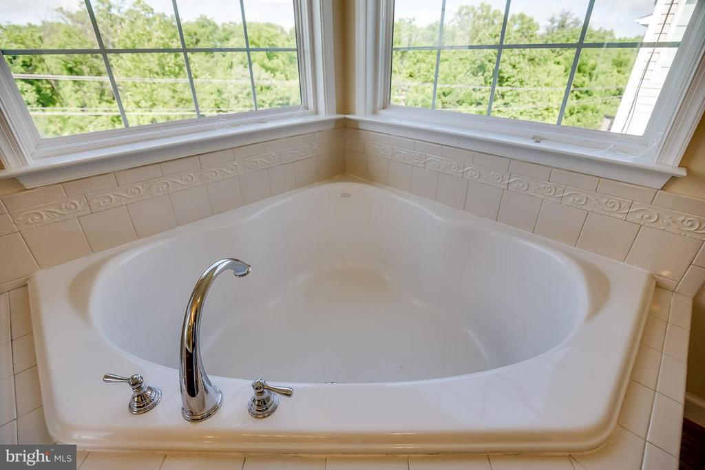 Large soaking tub - 231 HAWKS VIEW SQ SE, LEESBURG