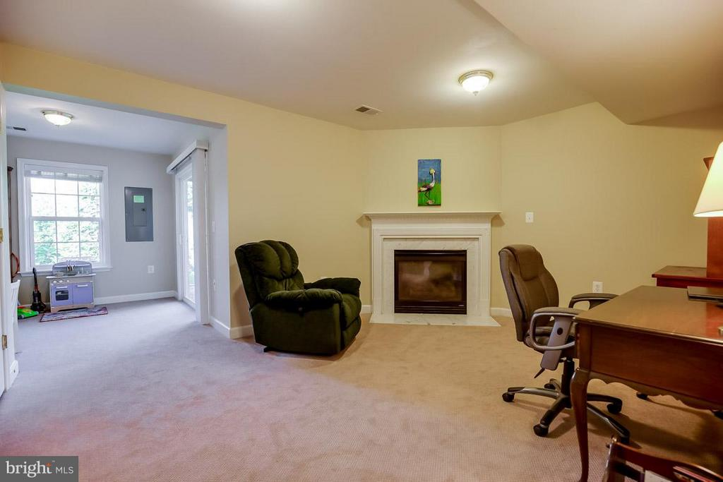 Large rec room with bump out space - 231 HAWKS VIEW SQ SE, LEESBURG