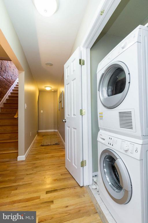 Stackable washer & Dryer - 223 FLORIDA AVE NW #4, WASHINGTON