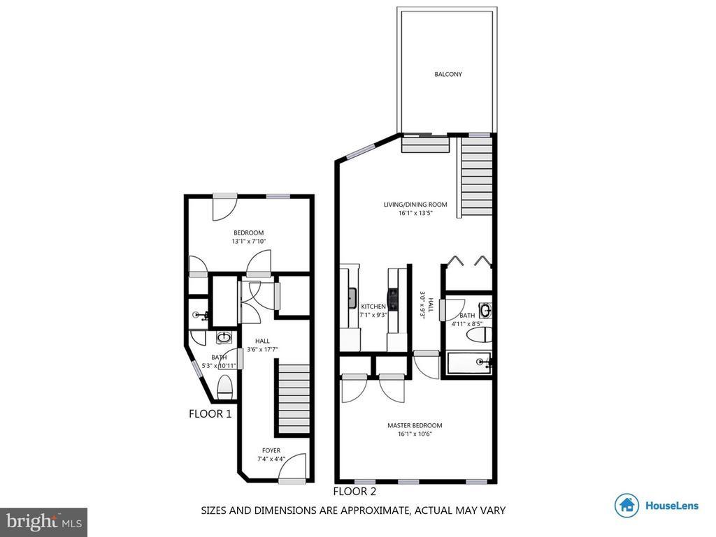 Floor Plan - 223 FLORIDA AVE NW #4, WASHINGTON