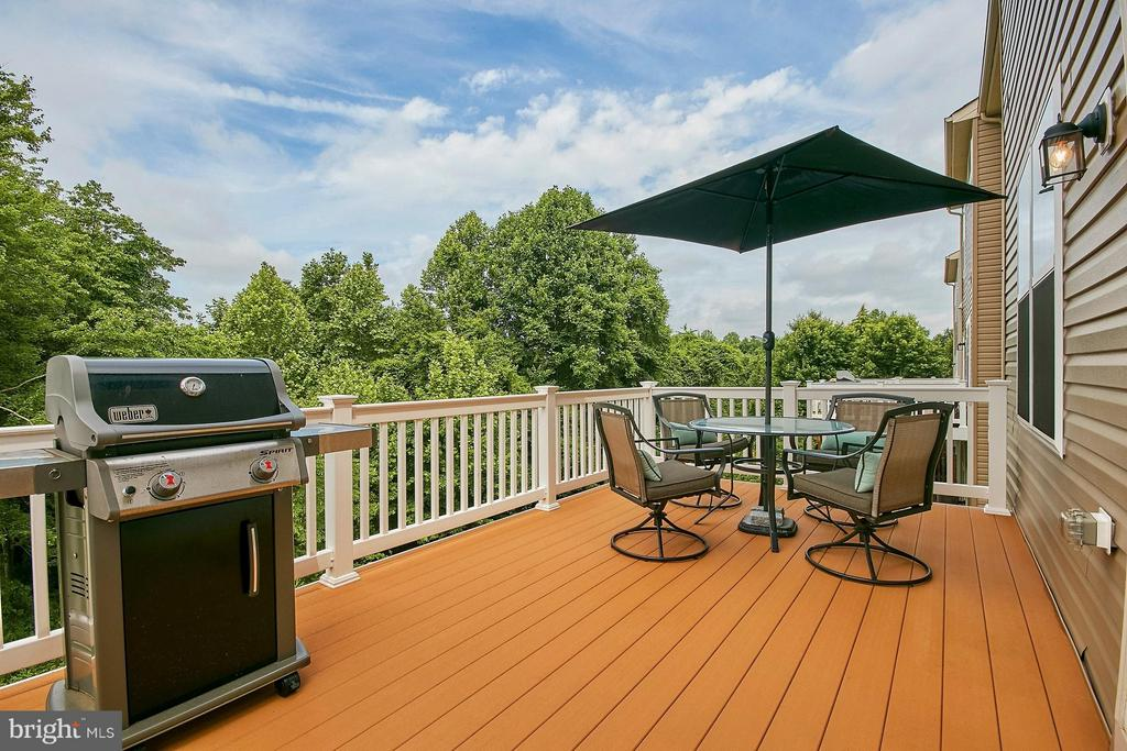 Large trex deck - great for entertaining! - 9052 ISABEL LN, MANASSAS PARK