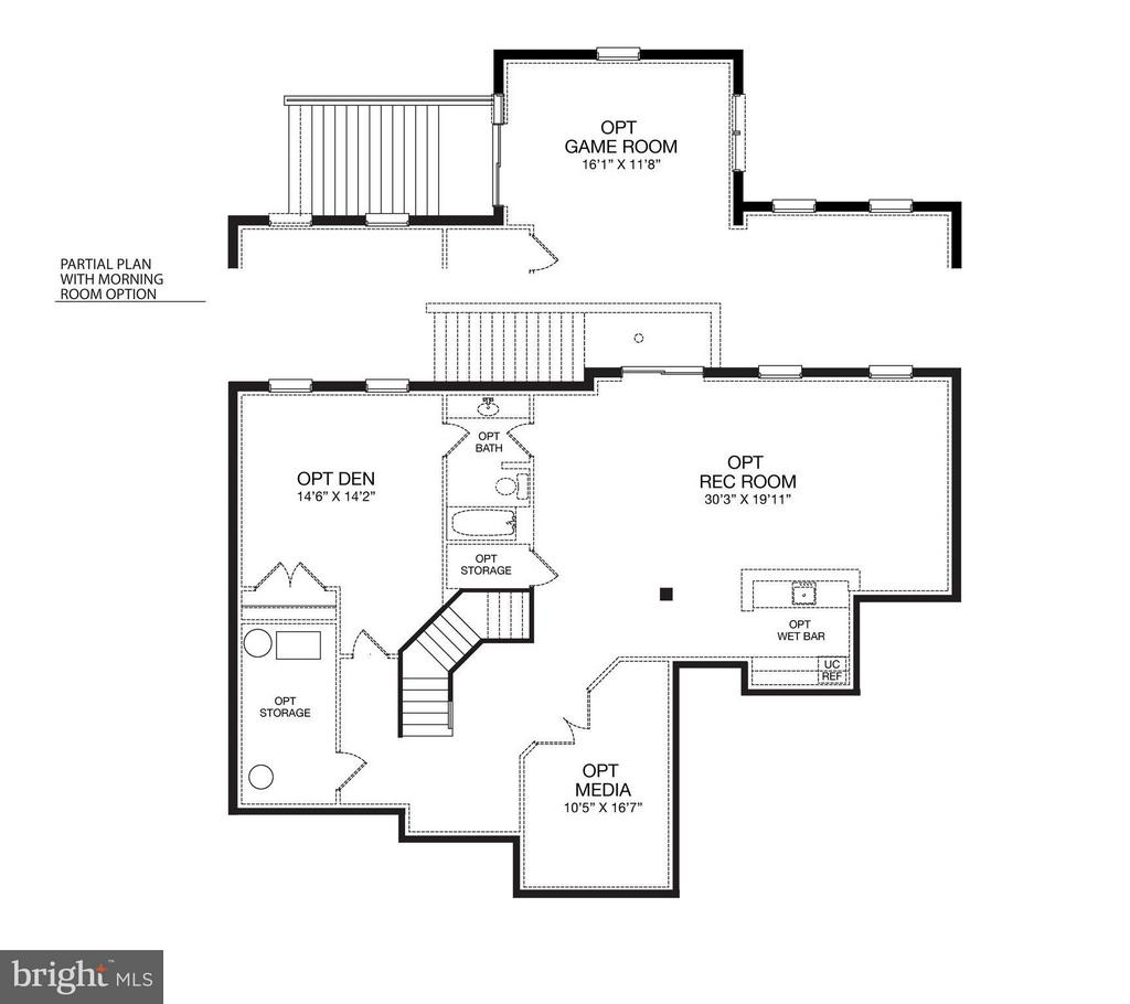 Lower  Level Plan - 9901 MOSBY RD, FAIRFAX