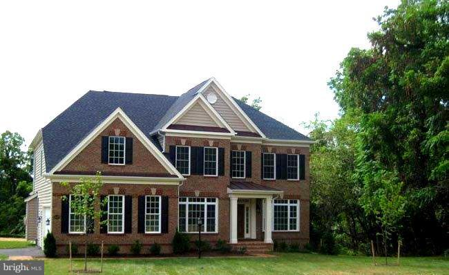 Sample of finished exterior - 9901 MOSBY RD, FAIRFAX