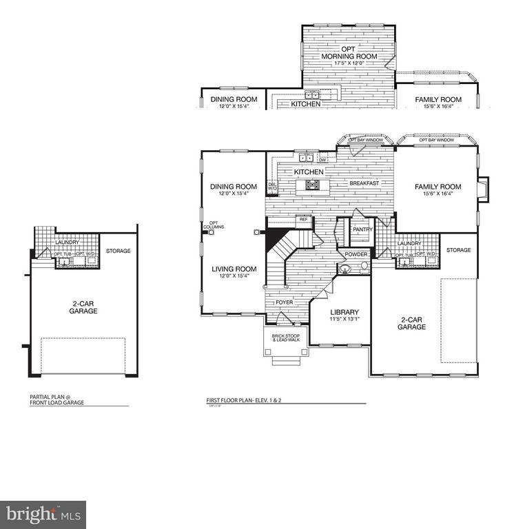 Main Level Plan - 9901 MOSBY RD, FAIRFAX