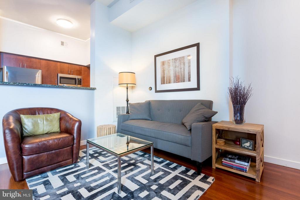 Living Room - 1000 NEW JERSEY AVE SE #PH21, WASHINGTON