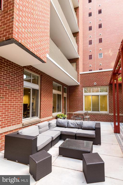 Outdoor Grounds with Grills and Lounge Area - 1000 NEW JERSEY AVE SE #PH21, WASHINGTON