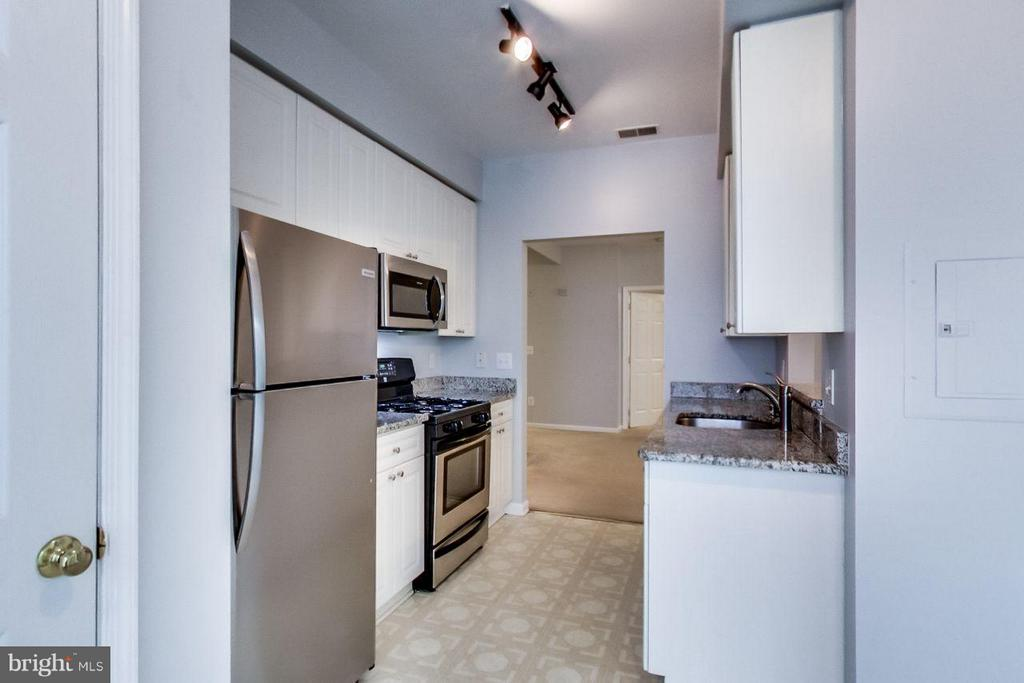 updated and spacious eat-in kitchen - 5940 FOUNDERS HILL DR #103, ALEXANDRIA