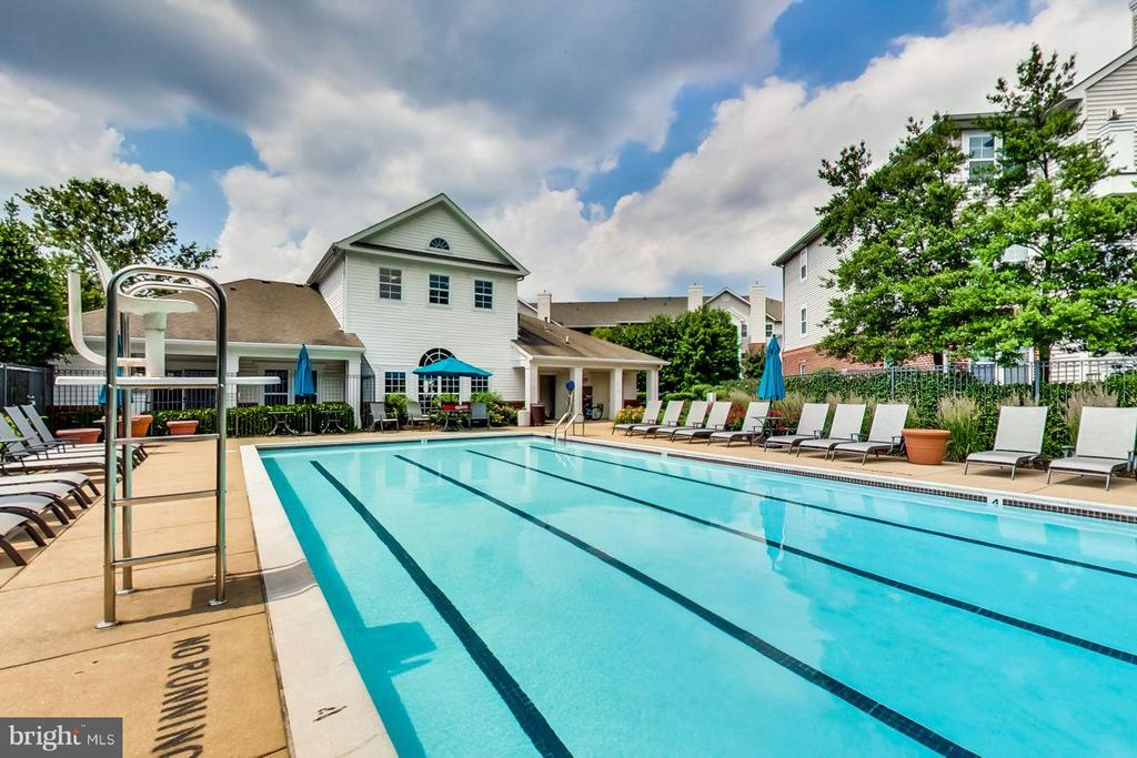 Community pool just in time for summer! - 5940 FOUNDERS HILL DR #103, ALEXANDRIA