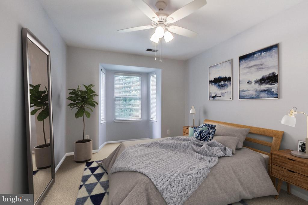Bedroom (Master) - 5940 FOUNDERS HILL DR #103, ALEXANDRIA
