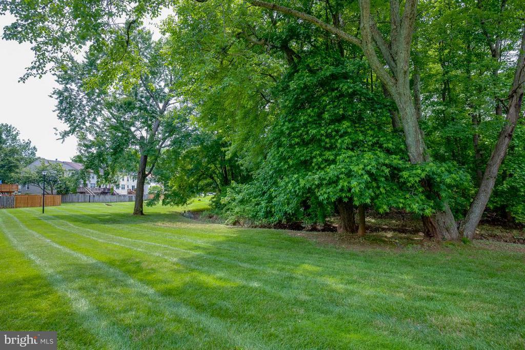 Backs to common area green space - 11922 GLEN ALDEN RD, FAIRFAX