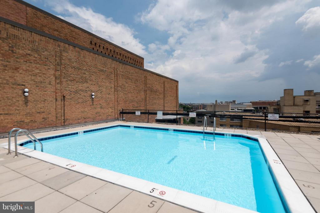Roof pool recently redone. - 1718 P ST NW #L5, WASHINGTON