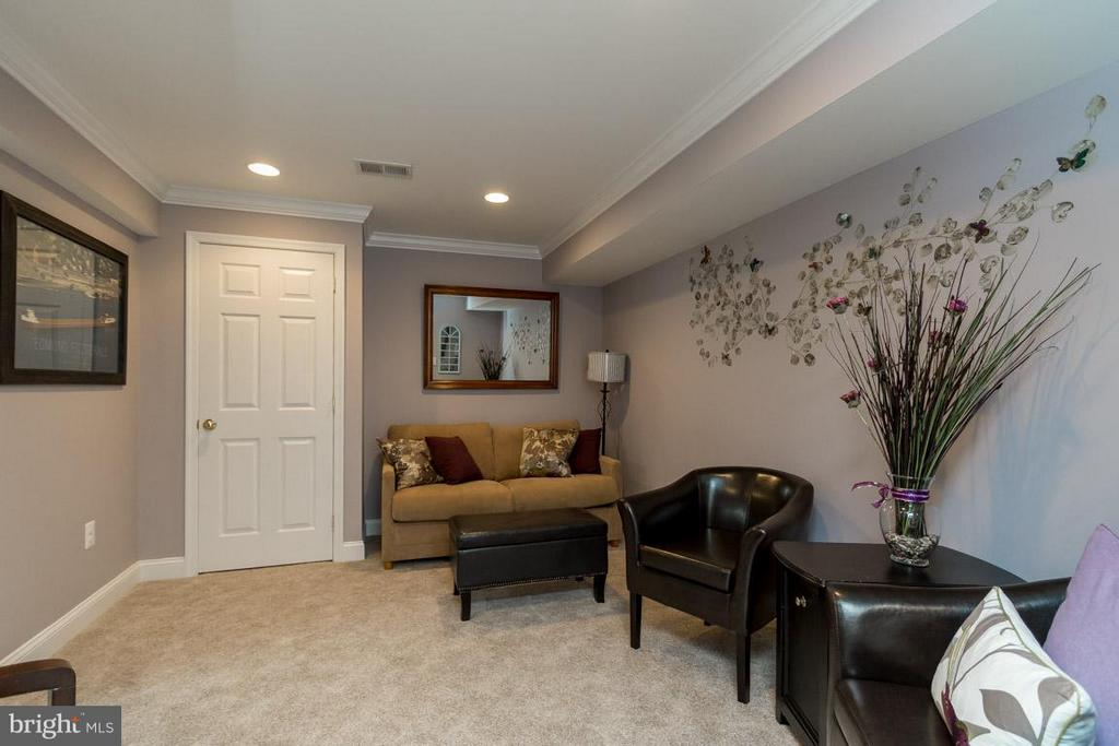 Lower Level Guest Room With Private Bathroom - 43416 WESTCHESTER SQ, LEESBURG