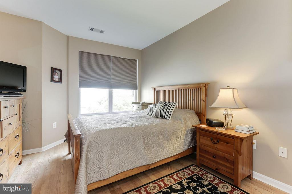Spacious master bedroom layout - 9490 VIRGINIA CENTER BLVD #343, VIENNA