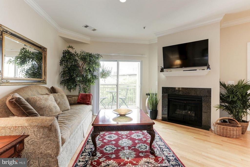 Great natural light from large windows! - 9490 VIRGINIA CENTER BLVD #343, VIENNA