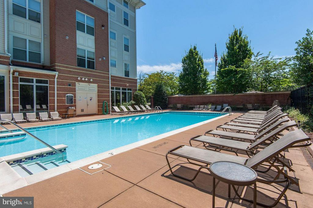 Community pool - 9490 VIRGINIA CENTER BLVD #343, VIENNA