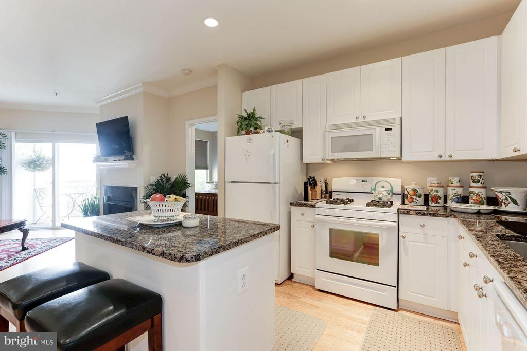 Spacious kitchen - 9490 VIRGINIA CENTER BLVD #343, VIENNA