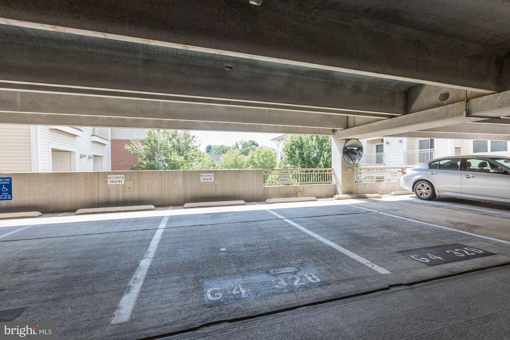 Reserved parking spot 1/2 (TWO spots convey) - 9490 VIRGINIA CENTER BLVD #343, VIENNA