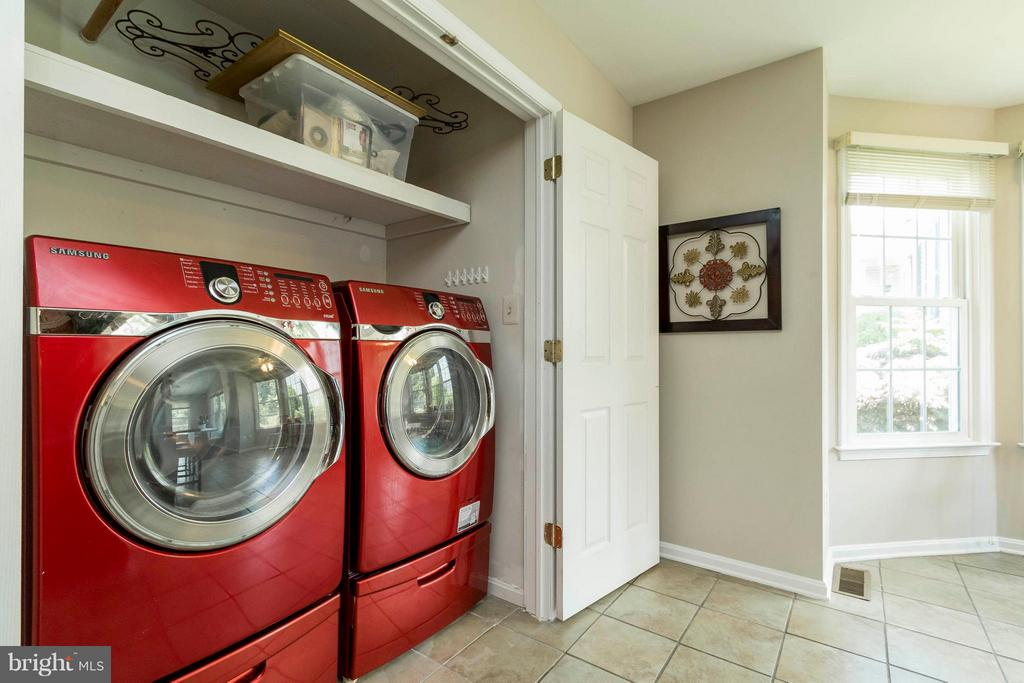 Laundry on Main Level - 8429 SILVERDALE CT, LORTON