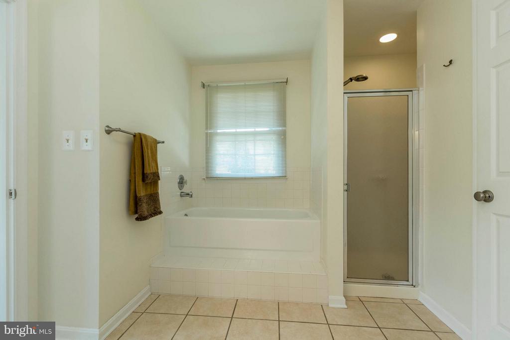 Bath (Master) - 8429 SILVERDALE CT, LORTON