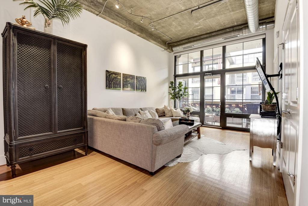 LIVING ROOM RECEIVES AN ABUNDANCE OF SUNLIGHT! - 2328 CHAMPLAIN ST NW #320, WASHINGTON