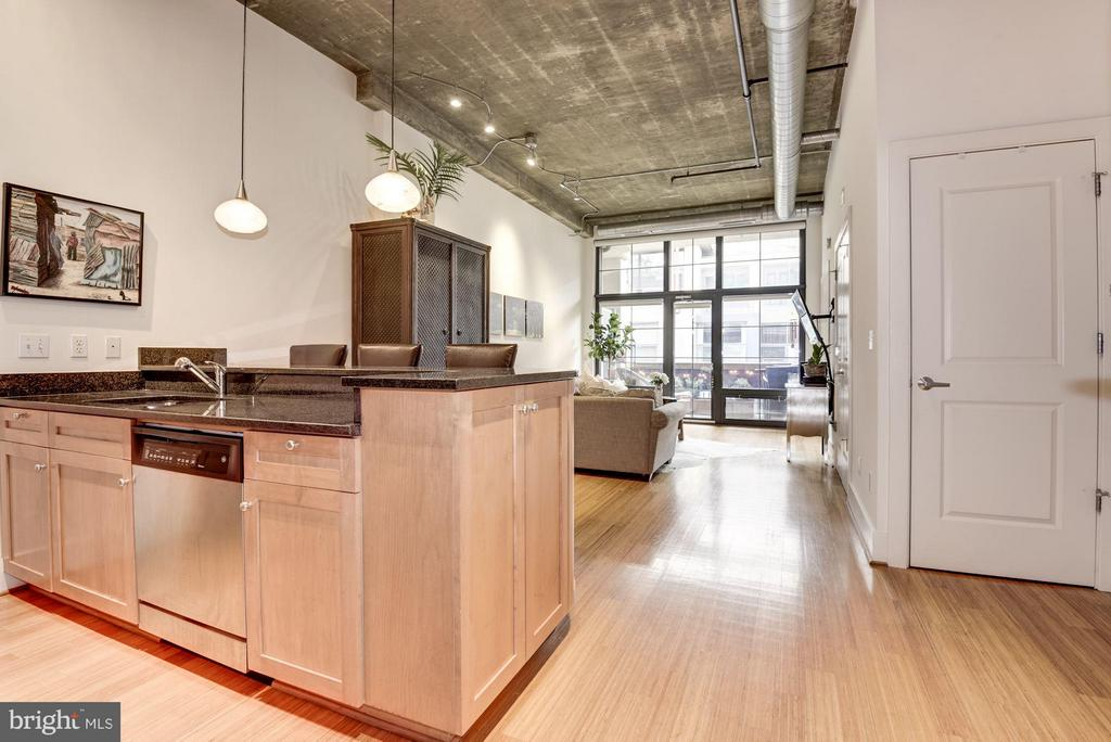 LOFT STYLE CONDO WITH EXTRA TALL CEILINGS! - 2328 CHAMPLAIN ST NW #320, WASHINGTON