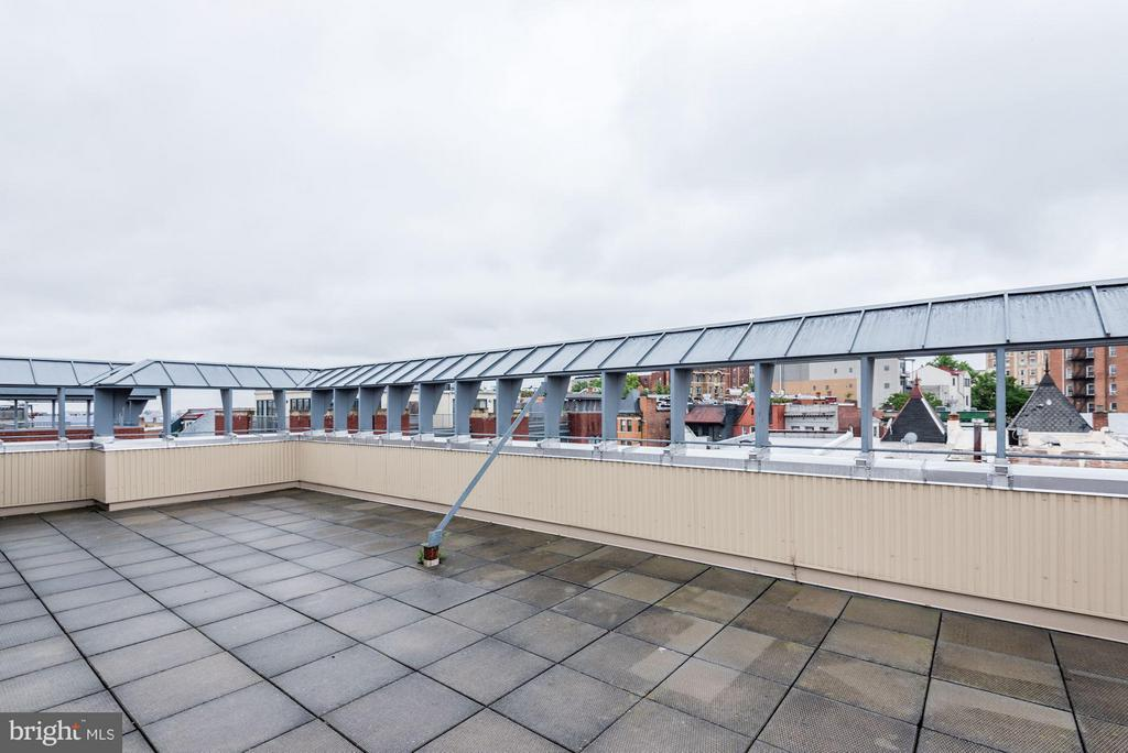 ROOFTOP PATIO WITH BBQ GRILLS - 2328 CHAMPLAIN ST NW #320, WASHINGTON