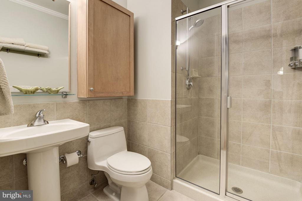 MASTER BATHROOM BEAUTIFULLY APPOINTED! - 2328 CHAMPLAIN ST NW #320, WASHINGTON