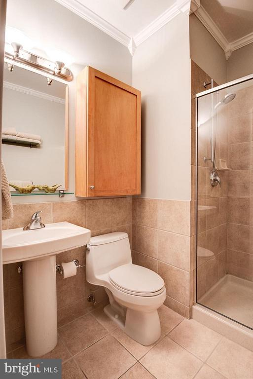 MASTER BATHROOM WITH CERAMIC TILE, BONUS STORAGE! - 2328 CHAMPLAIN ST NW #320, WASHINGTON