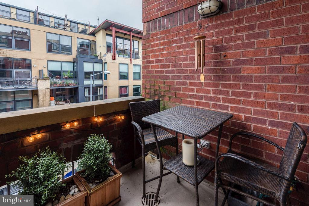 PRIVATE OUTDOOR BALCONY - PERFECT FOR ENTERTAINING - 2328 CHAMPLAIN ST NW #320, WASHINGTON