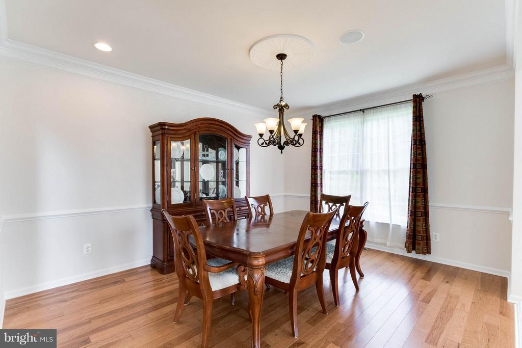 Dining Room - 25287 JUSTICE DR, CHANTILLY