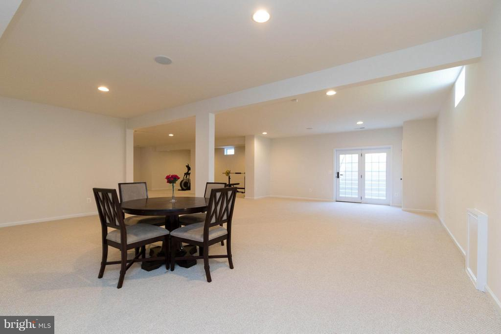 Walk-up basement with tons of space - 25287 JUSTICE DR, CHANTILLY