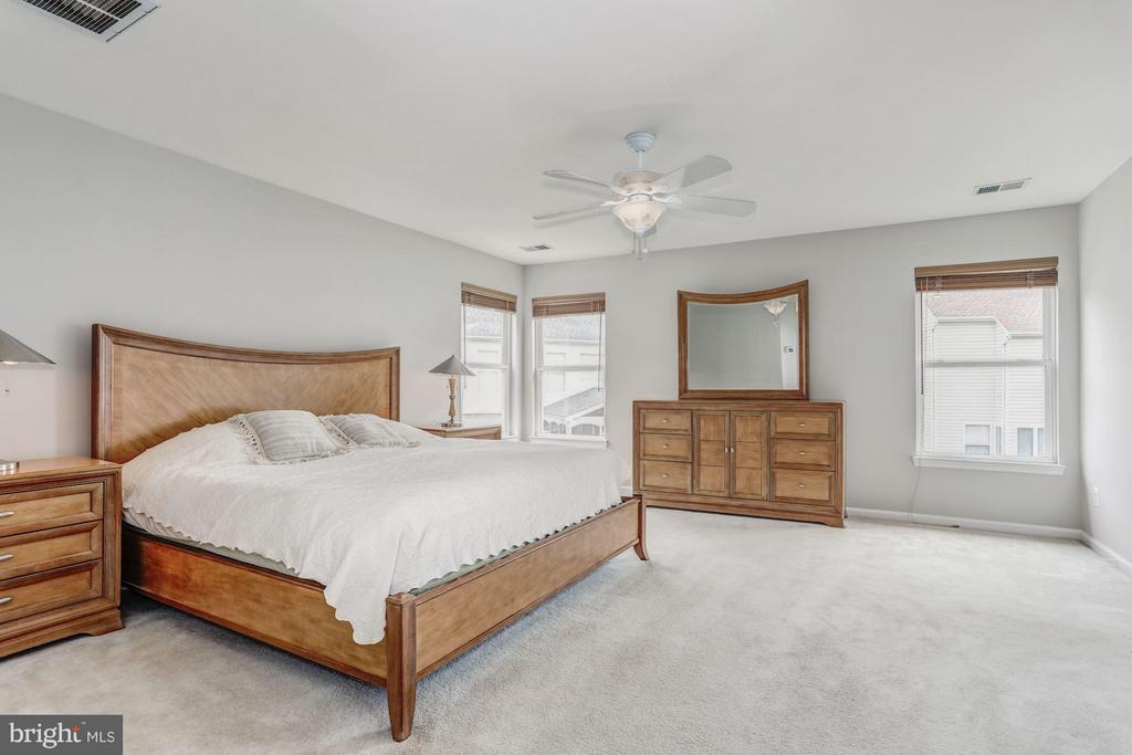 Bedroom (Master) with perfect Natural Light. - 5109 WHISPER WILLOW DR, FAIRFAX