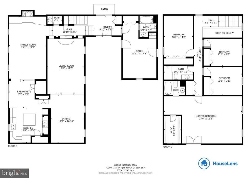 Floor Plan - 1035 AQUIA DR, STAFFORD