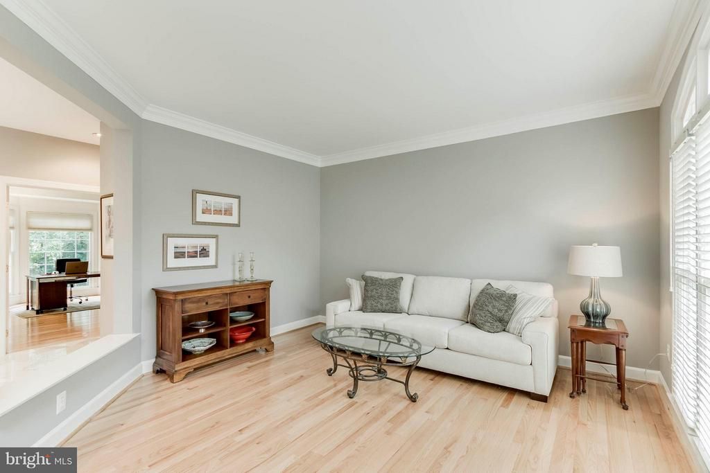 Living Room - 43900 LOGANWOOD CT, ASHBURN