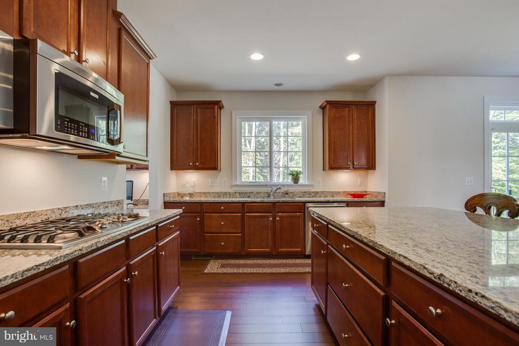 Granite Countertops, Wood Floors - 9 ECHOLS LN, STAFFORD
