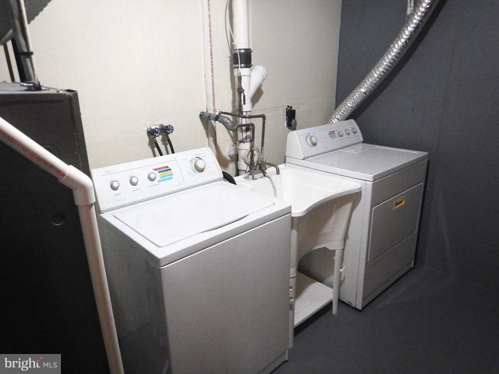 Laundry Room on Lower Level - 5700 TENDER CT, SPRINGFIELD