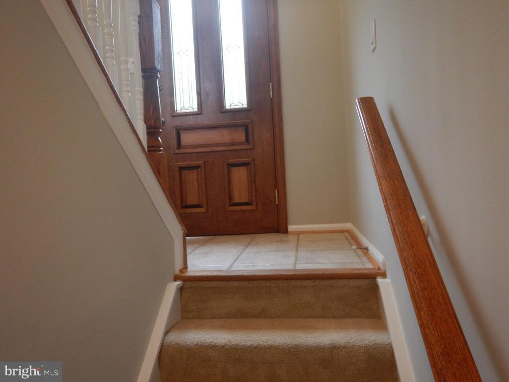 View from Basement Level to Front Door - 5700 TENDER CT, SPRINGFIELD