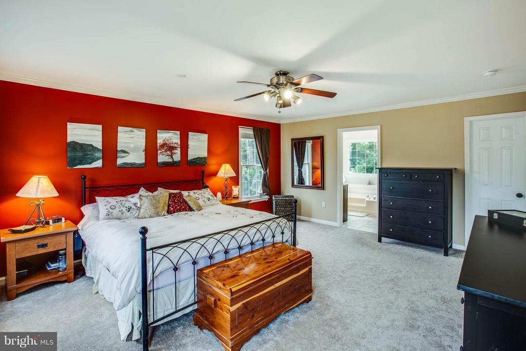 Master bedroom - 10 WILLOW GLEN CT, STAFFORD