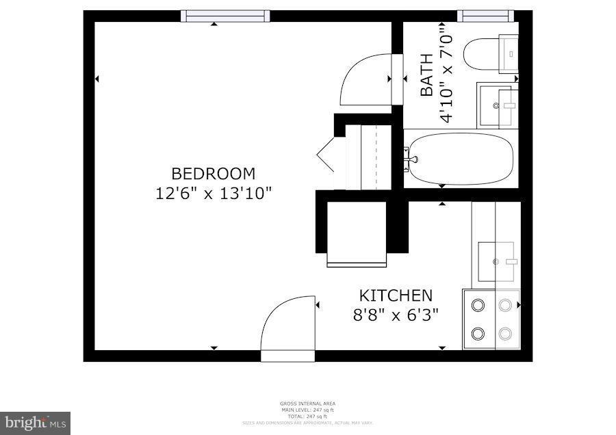 Interior (General) - 1822 15TH ST NW #B3, WASHINGTON