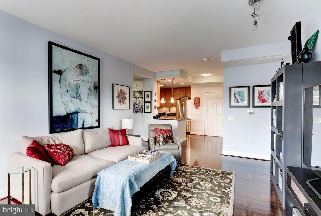 Living Room - 1111 ORONOCO ST #333, ALEXANDRIA