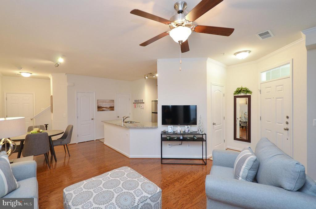 Open & Spacioius Living Room - 19442 DIAMOND LAKE DR #19442, LEESBURG