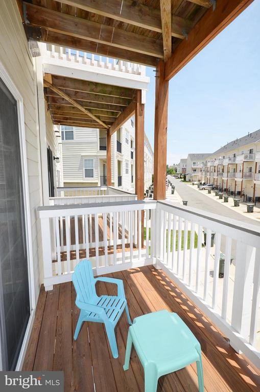 Balcony - 19442 DIAMOND LAKE DR #19442, LEESBURG