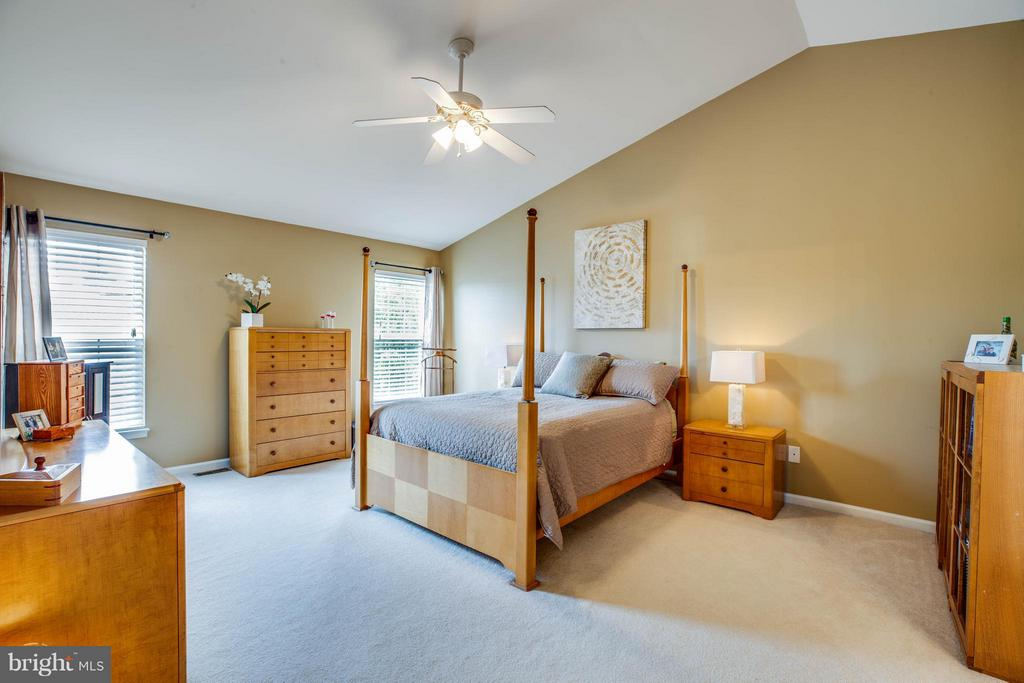 Retreat to the master! Spacious w/ walk-in closet - 4 KLINE CT, STAFFORD