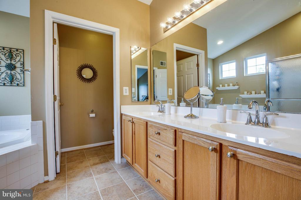 Privacy, please! Water closet and double vanity - 4 KLINE CT, STAFFORD