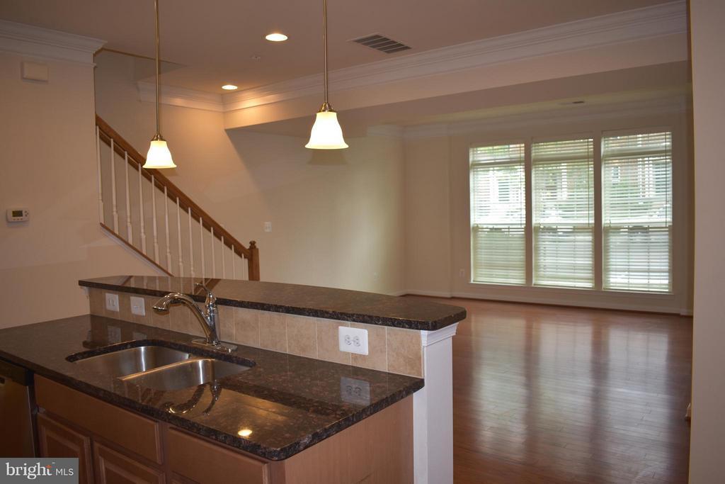 Gleaming Hard Wood Floors w/ Open Floor Plan - 21641 ROMANS DR, ASHBURN