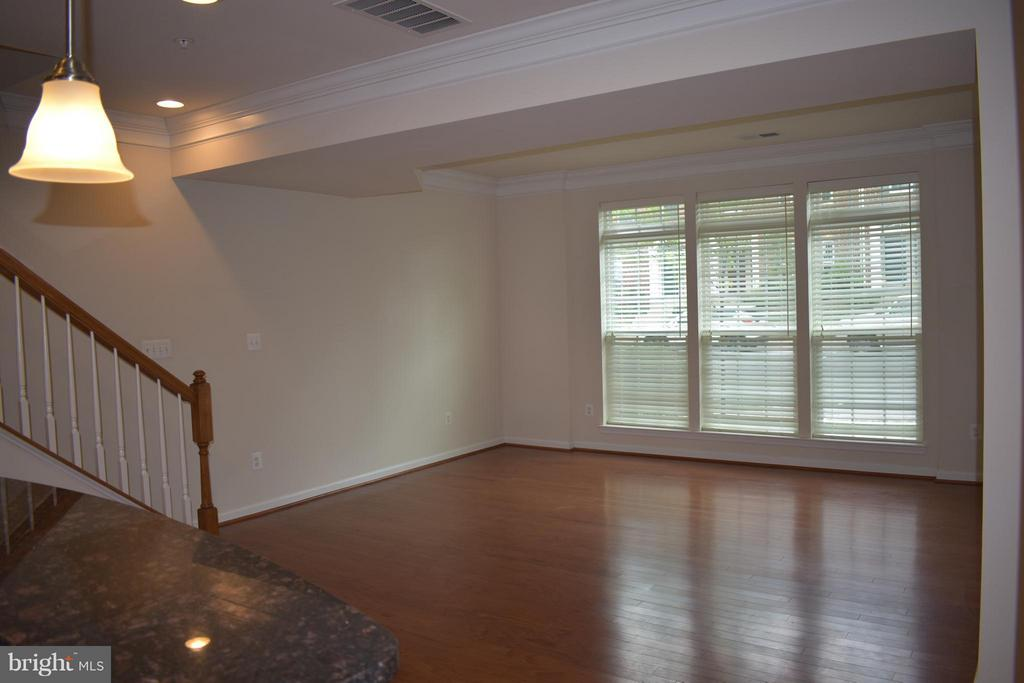 Well Lit Family/Dining Room w/ Open Floor Plan - 21641 ROMANS DR, ASHBURN