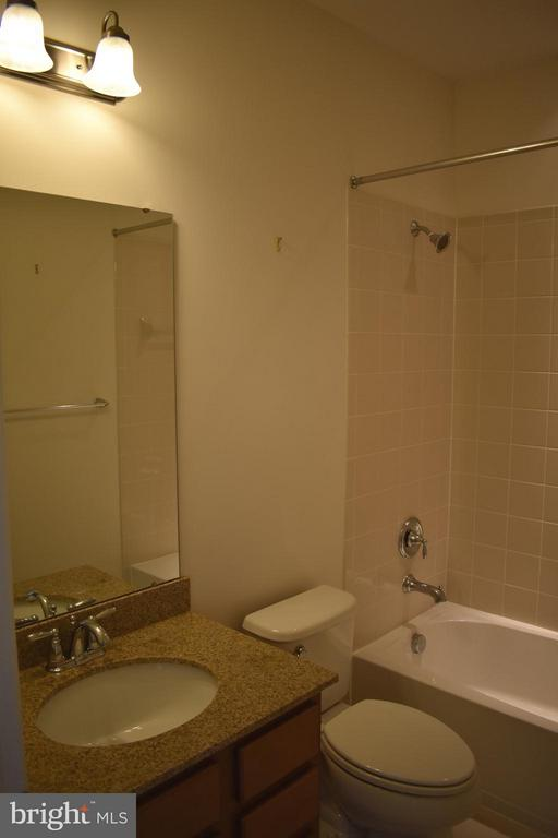 2nd Floor Bath w/ Upgraded Cabinet & Granite - 21641 ROMANS DR, ASHBURN