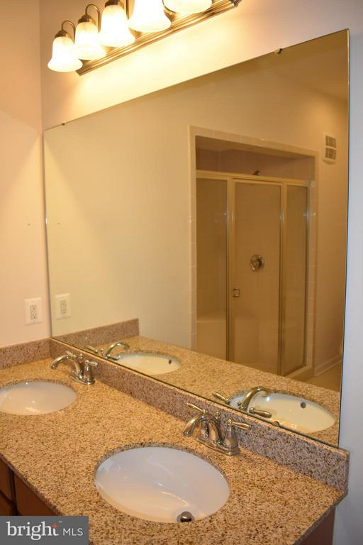 His & Her Sinks w/ Granite Counter Tops - 21641 ROMANS DR, ASHBURN