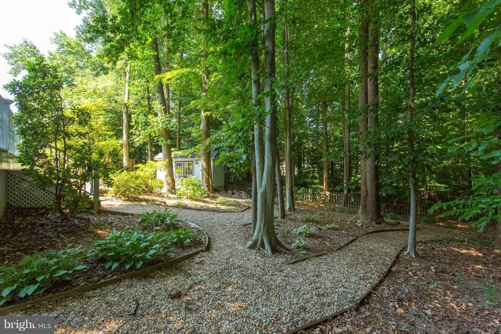 Wooded lot w/lots of trees - 7314 JENNA RD, SPRINGFIELD