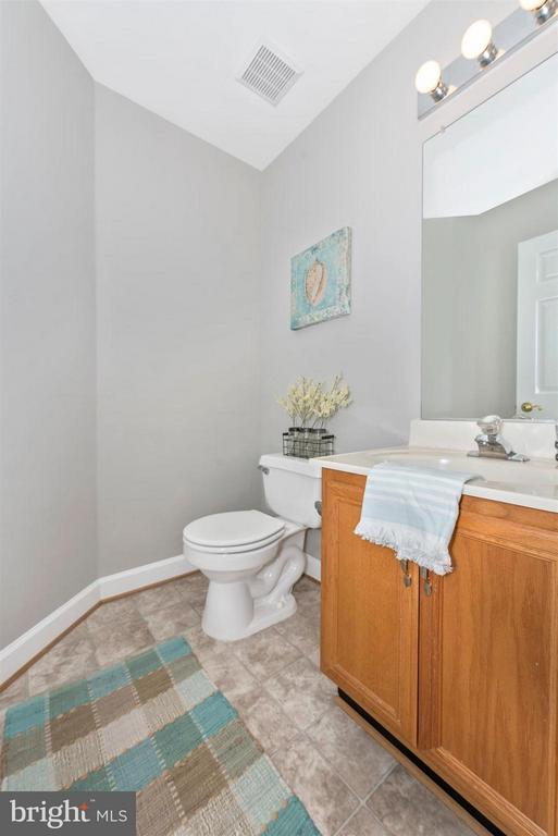 MAIN LEVEL POWDER ROOM - 6104 PINE CREST LN, FREDERICK